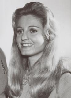 Jill Ireland British actress