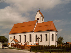 Lengenwang - Lengenwang, church