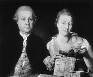 Leopold Auenbrugger and his wife Marianne bw.JPG