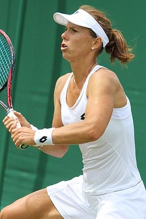 Varvara Lepchenko - Lepchenko at the 2017 Wimbledon Championships
