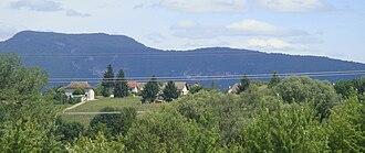 Les Avenières-Veyrins-Thuellin - Les Avenières seen from the park of Walibi