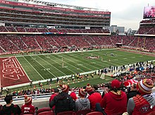 e177ea2add6d7 Levi s Stadium in 2017 during a game against the Jacksonville Jaguars