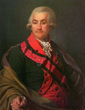 Iosif Igelström - Portrait of General Igelström by Dmitry Levitsky.