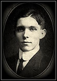 Levitt Luzern Custer in the 1909 Otterbein University yearbook.jpg