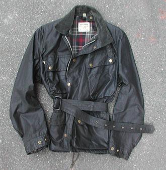 Lewis Leathers - Image: Lewis Leathers Aviakit Wax Cotton Jacket