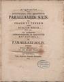Lexell - Disquisitio de investiganda vera quantitate parallaxeos solis ex transitus veneris ante discum solis anno 1769, 1772 - 726057 F.tif
