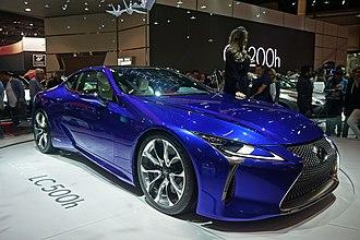 Lexus LC - Image: Lexus LC 500h SAO 2016 9316