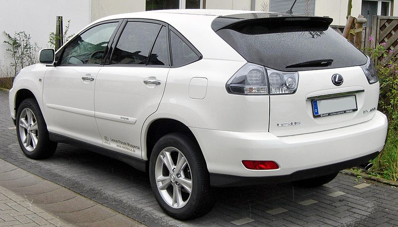 file lexus rx 400h rear jpg wikimedia commons. Black Bedroom Furniture Sets. Home Design Ideas
