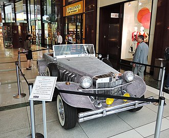 Behind the Candelabra - Car used in the production