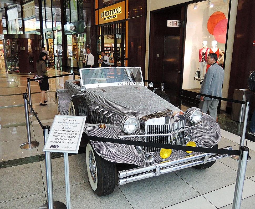 Liberace's rhinestone car TWC jeh