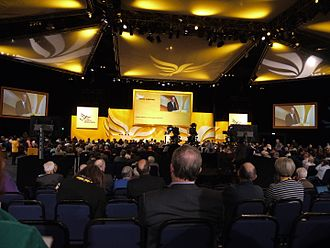 Liberal Democrats (UK) - Liberal Democrats Conference in 2011.