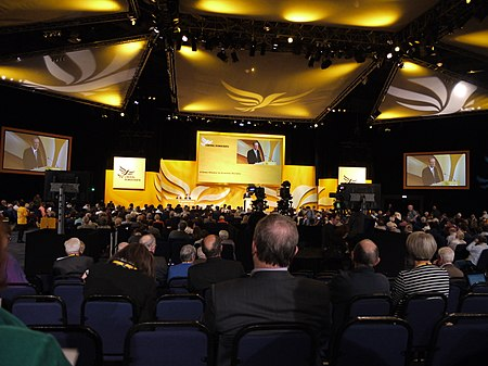 The 2011 Liberal Democrats conference Liberal Democrat Conference 2011.jpg