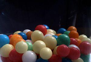 """Dragée - Another form of dragée: """"Liebesperlen"""" sweets (love pearls)"""