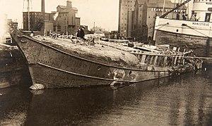 United States lightship Buffalo (LV-82) - Image: Lightship LV 82 After Sinking