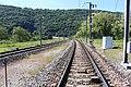 Ligne ferroviaire près Viaduc Cize Bolozon Bolozon 1.jpg