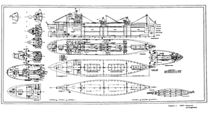 USS General Omar Bundy (AP-152) - Schematics of the USS Poet from the United States Coast Guard