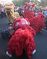 Lion dancers at the Auckland lantern festival 2010.jpg