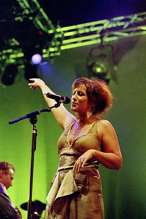 Lisa Nilsson - Lisa Nilsson performing live in 2004. Photo by Ragnar Tryggveson
