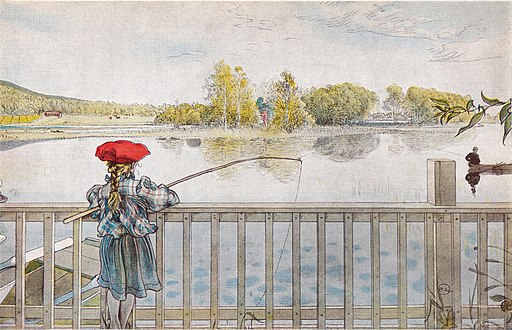 Lisbeth metar av Carl Larsson 1898