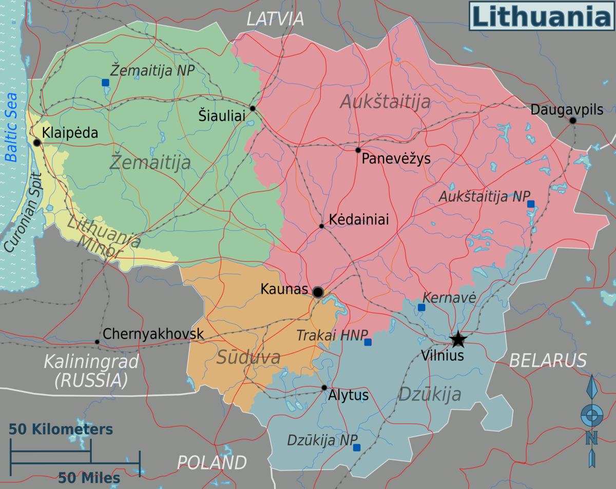 Lithuania Travel guide at Wikivoyage