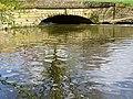 Little Bridge at Yarwell - April 2014 - panoramio.jpg