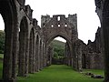 Llanthony Priory, the nave - geograph.org.uk - 925023.jpg