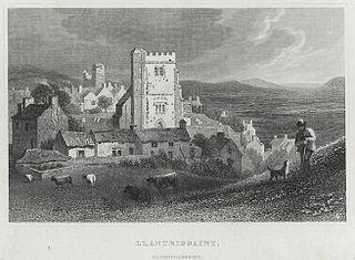 Llantrissaint, Glamorganshire