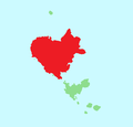 Localització de la Meda Gran respecte les illes Medes.png