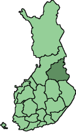 Location of Kainuu in Finland.png