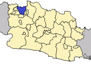 Greater Jakarta - Image: Locator DKI Jakarta