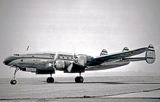 KLM - Lockheed L-749A Constellation of KLM in 1953.