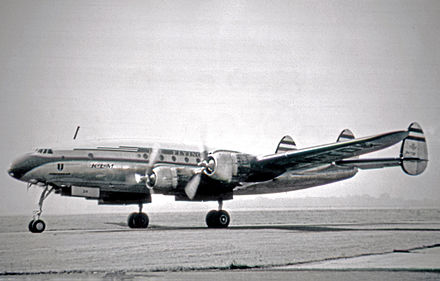 Lockheed L-749A Constellation of KLM in 1953 Lockheed L-749A PH-TDK KLM RWY 07.07.53 edited-2.jpg