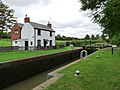 Lockkeeper's Cottage at Newton Top Lock - geograph.org.uk - 1416519.jpg