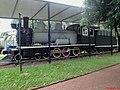 Locomotiva Phantom, popularmente chamada de Maria-fumaça, instalada na praça Francisco Schimidt, Vila Tibério em Ribeirão Preto. A locomotiva era utilizada pela Usina Amália e foi doada em 191 - panoramio (1).jpg