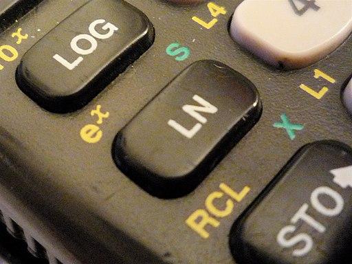 Logarithm keys