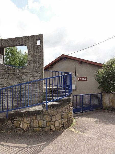 Loisey (Meuse) école