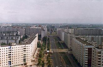 Severodvinsk - Lomonosova Street in Severodvinsk