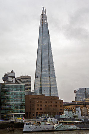 Al Jazeera English - The Shard, Home to Al Jazeera English's London hub