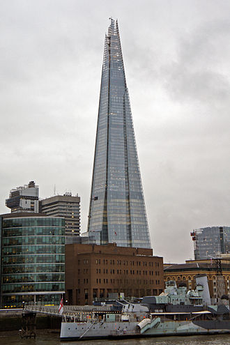 Al Jazeera English - The Shard, Home to Al Jazeera English's London hub