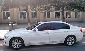 BMW 3 Series (F30) - BMW 3 Series F35 in China