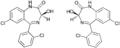 Lorazepam-Enantiomere Strukturformeln.png