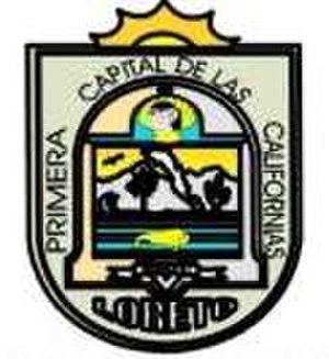 Loreto Municipality, Baja California Sur - Image: Loretoescudo
