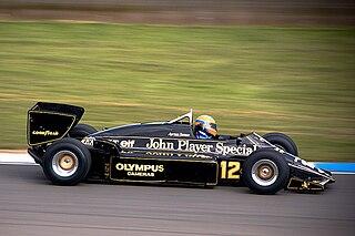 Lotus 97T racing automobile