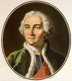Louis-Joseph de Montcalm - Portrait by Antoine-François Sergent-Marceau