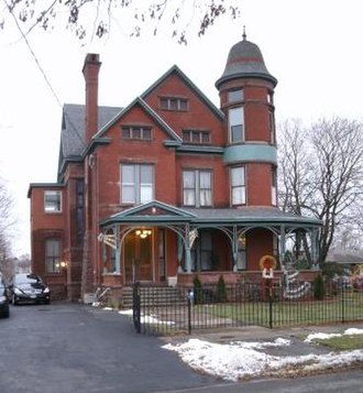 Louis Will House - Image: Louis Will House N Mc Bride Syracuse NY sm 2009 12 14