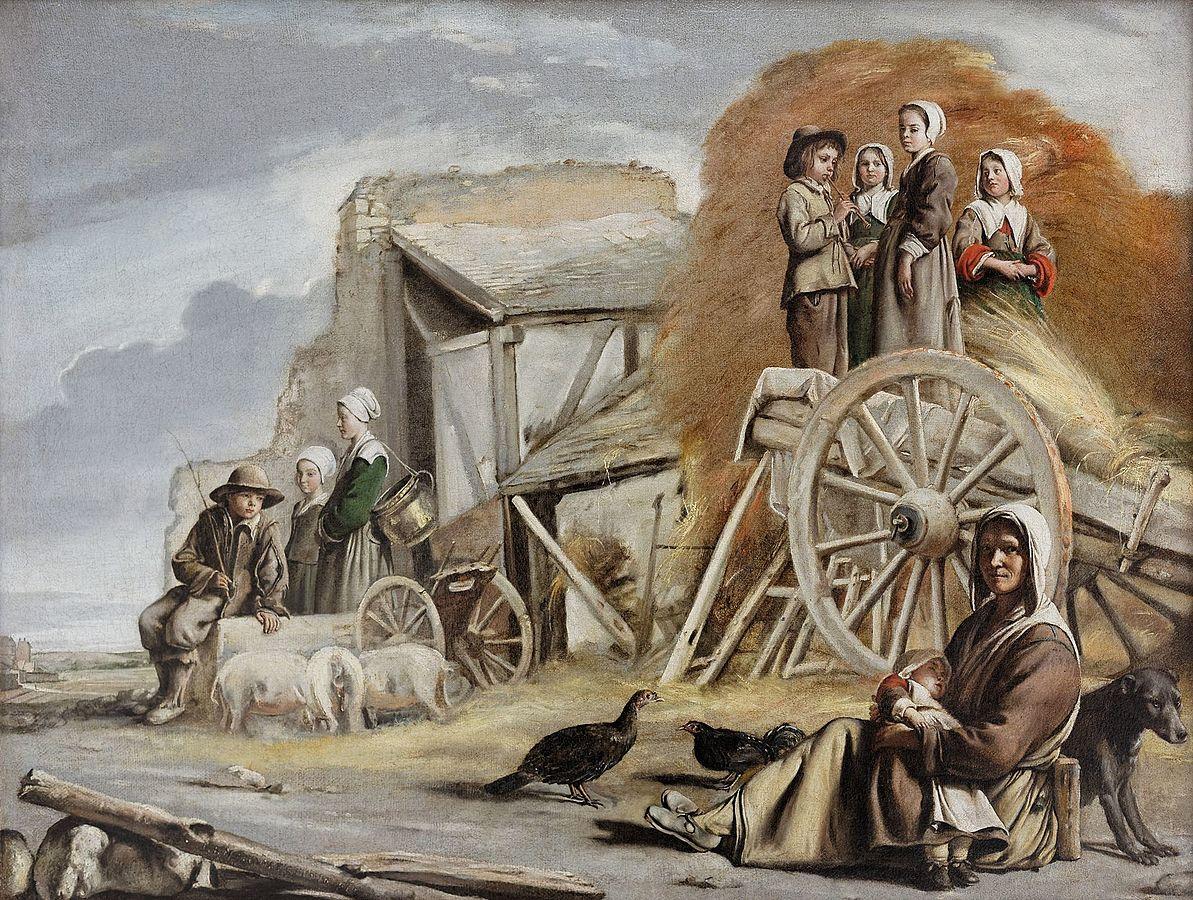 Der Bauernwagen (Die Karre, Rückkehr von der Heuernte)