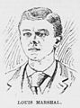 Louis Marshall, Advertiser sketch, 1895.jpg