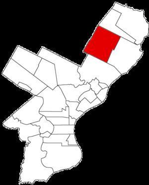 Lower Dublin Township, Pennsylvania - Image: Lower Dublin Twp 1854