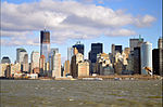 Lower Manhattan skyline Dec 2011.jpg