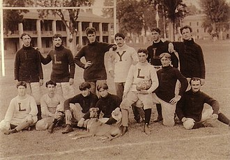 History of LSU Tigers football - The 1895 team.
